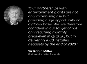 Sir Robin Miller, Chairman.
