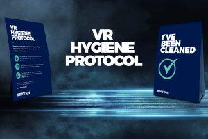 covid-19 VR hygiene